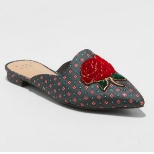 A New Day Rose Mules
